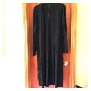 WHBM NWT Duster, beautiful long sleeve sweater